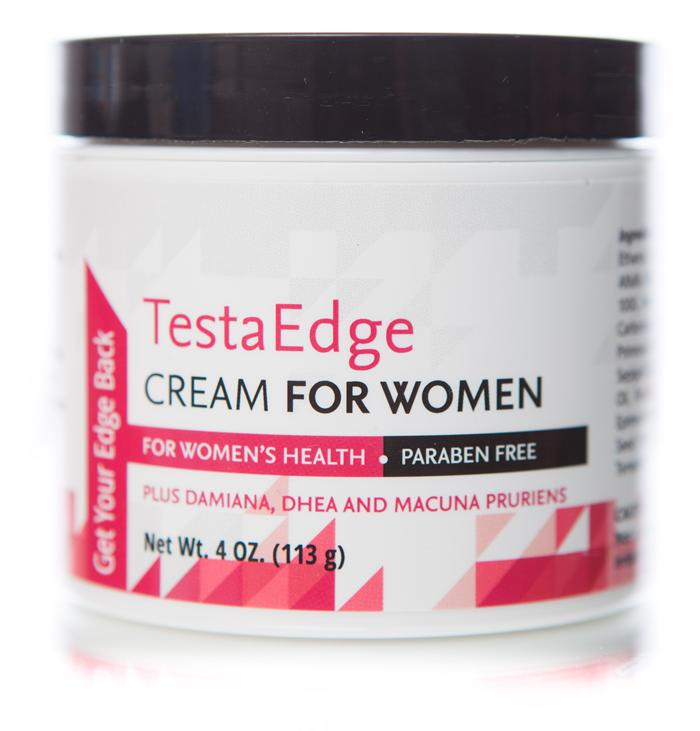 TestaEdge Cream for Women -4 oz. Jar